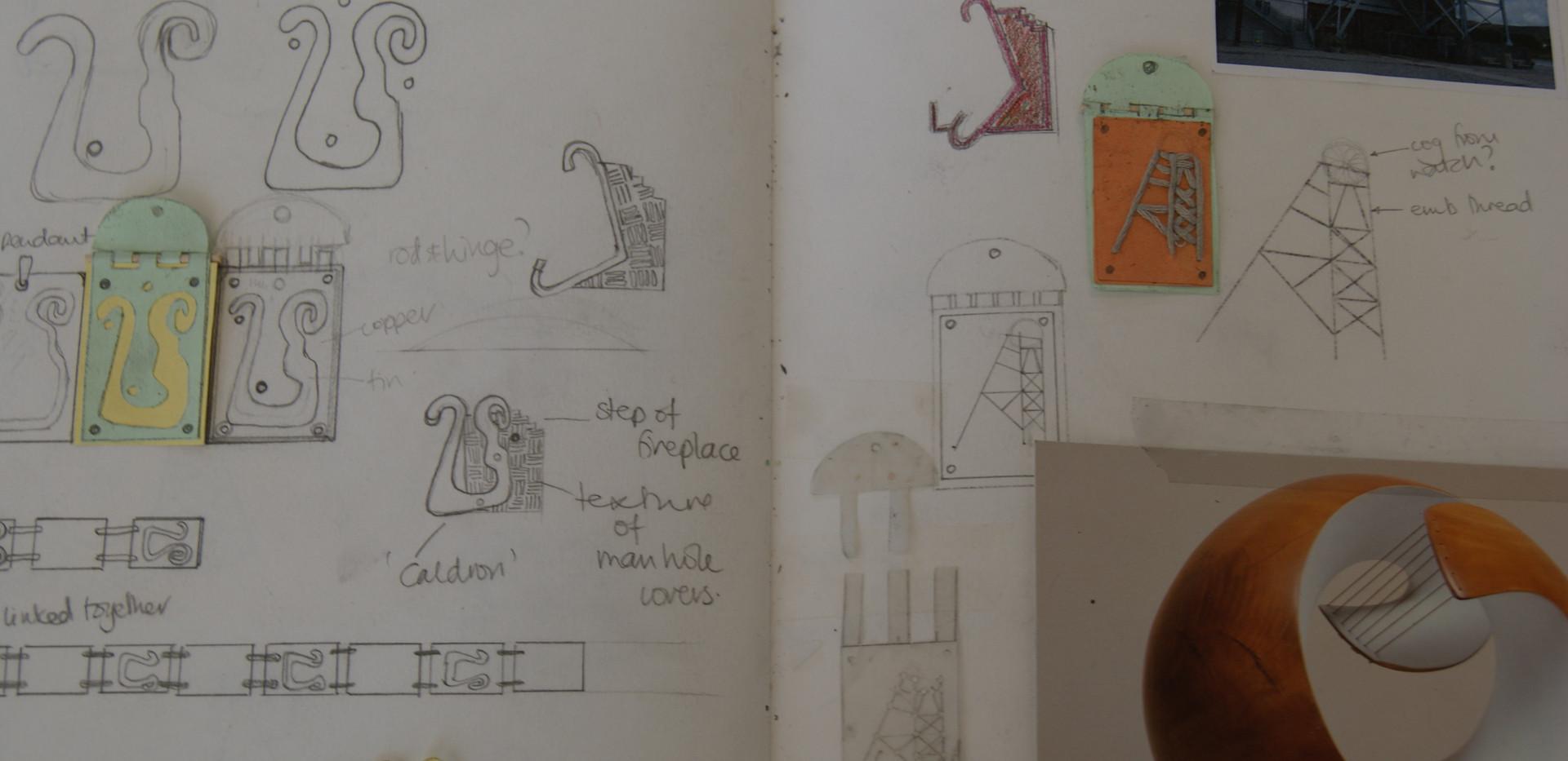 Bee Pellow's Sketchbook