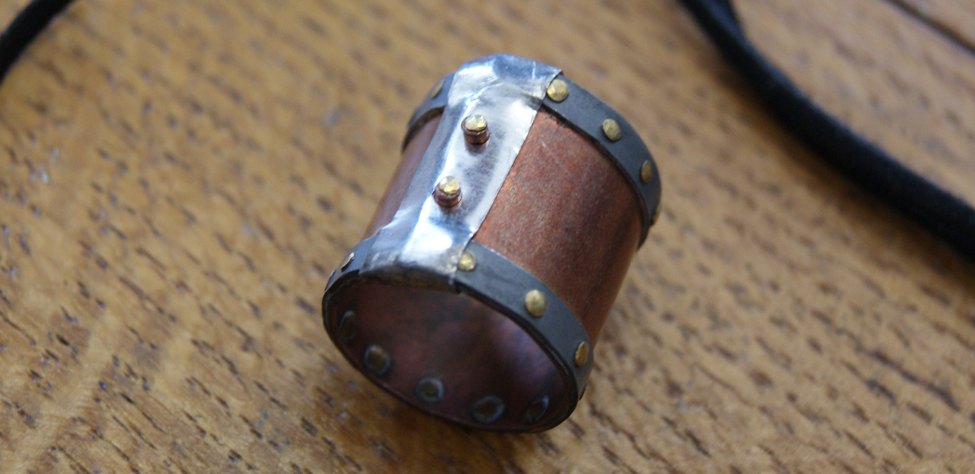 Heritage inspired ring by Rosi Jolly