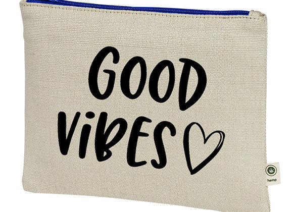 Good Vibes Hemp Pouch