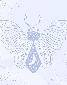Lunar Moth Postcard