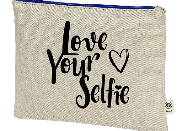 Love Your Selfie Hemp Pouch