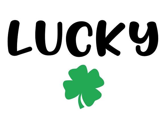 Lucky Clover Sticker