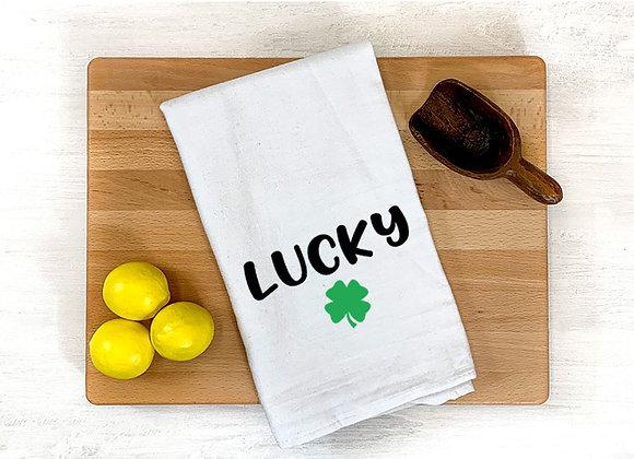 Lucky Clover Towel
