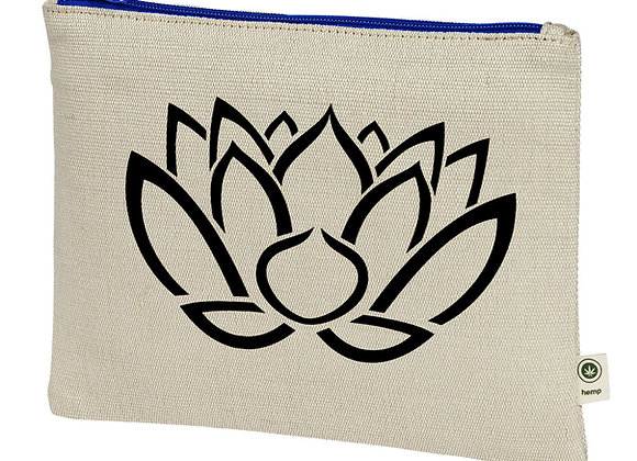 Lotus Hemp Pouch