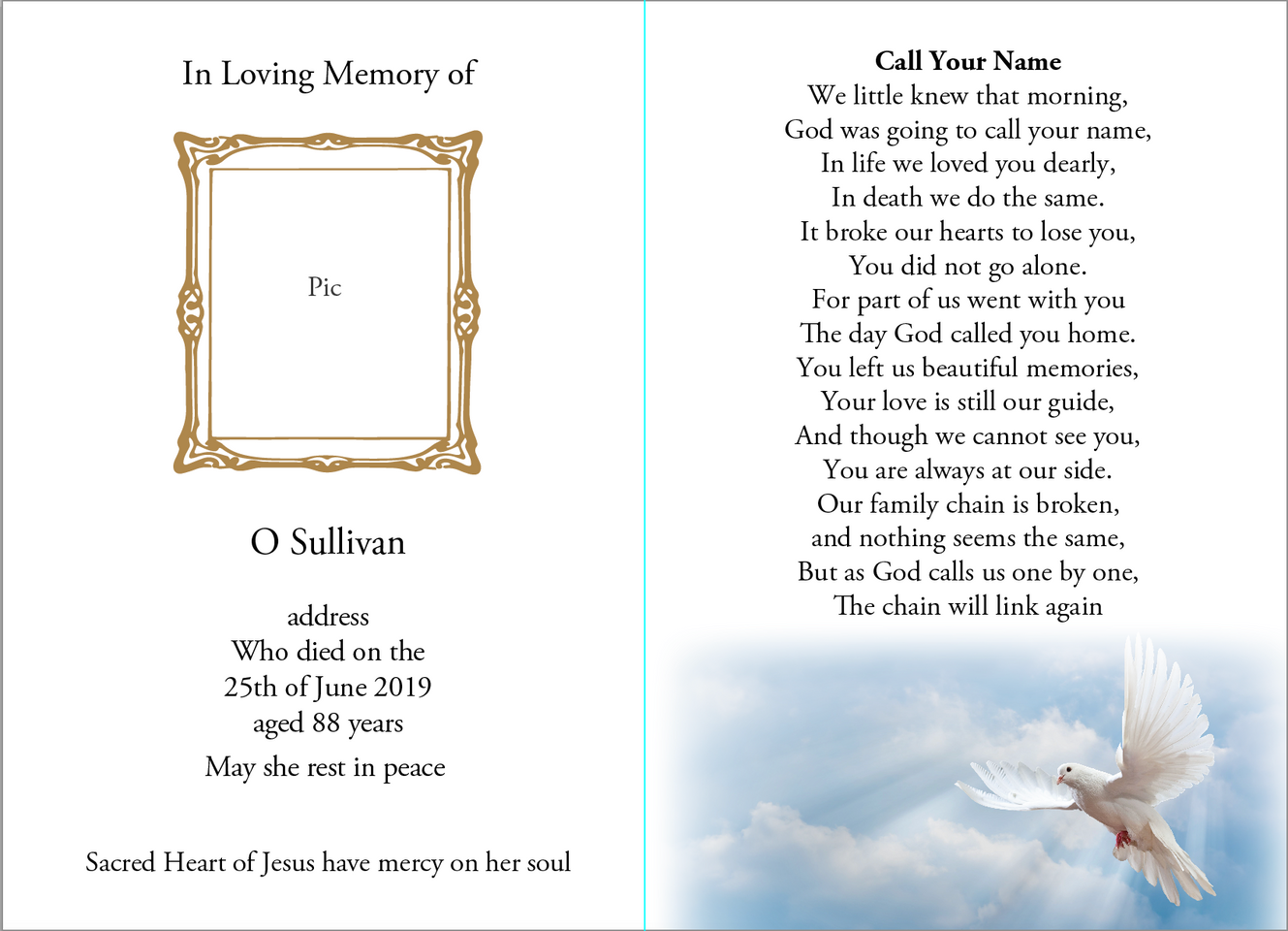 D&S Memorials Sample 7