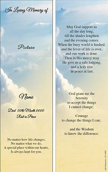 D&S Memorials Bookmark