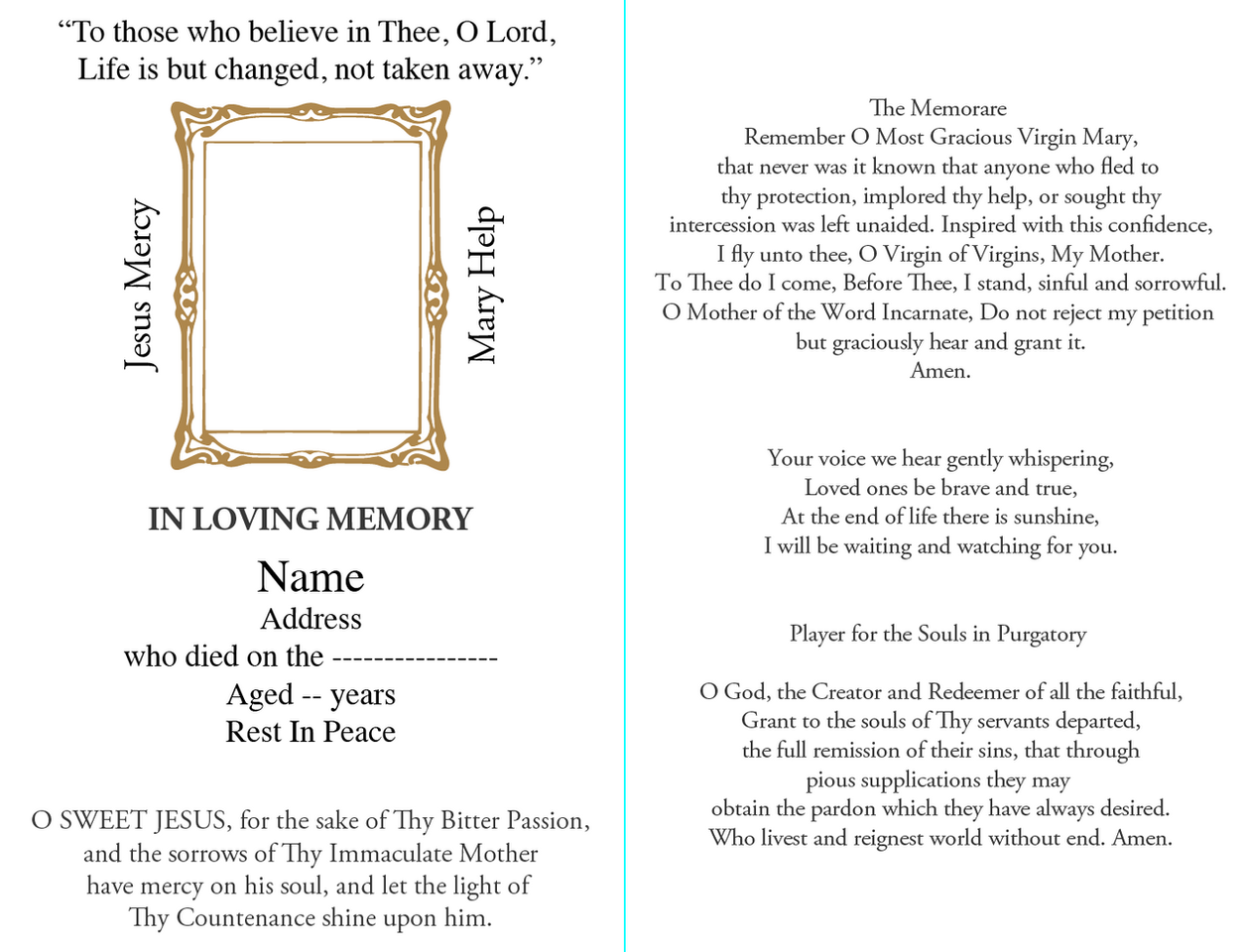 D&S Memorials Sample 5