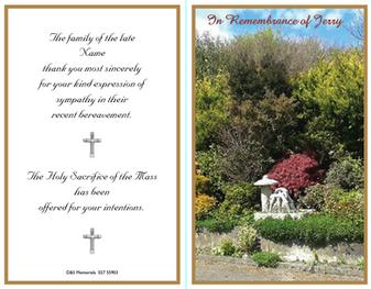 D&S Memorials Sample 3