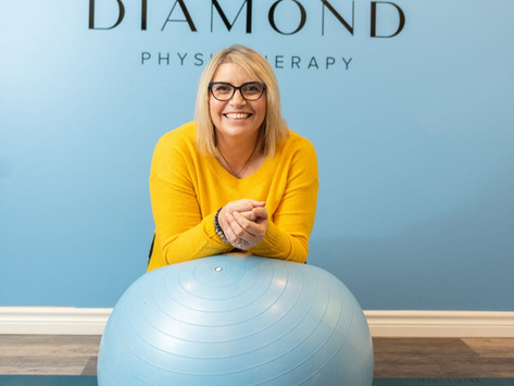 BEHIND DIAMOND PHYSIOTHERAPY: WITH NICOLA ROBERTSON