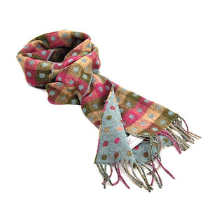 BRONTE BY MOON Spot/Check Scarf