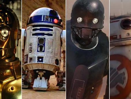 Power Rankings: Star Wars - Best Droids