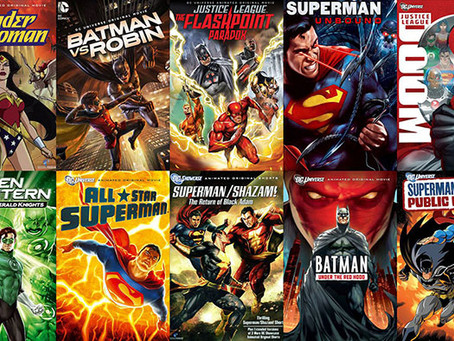 Power Rankings: DC Animated Movies
