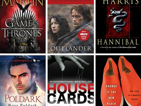 Power Rankings: TV Shows Based on Books