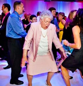 Marc Oleary Helps Granny on the Dancefloor