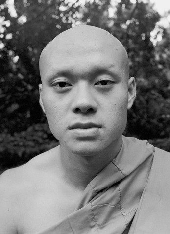 My brother as a monk