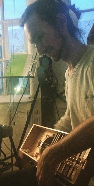 Recording for Bulgarian film soundtrack in Cable Street Studio