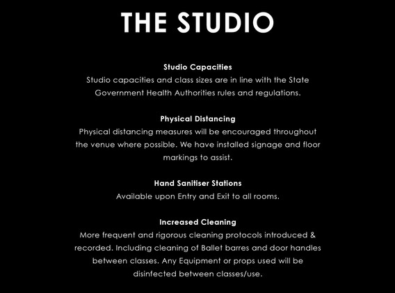 BEING COVID SAFE - The Studio.jpg
