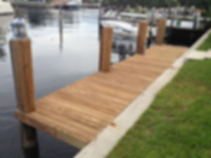 Boat Dock & Decking Refinishing