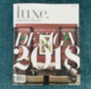 Miami Abstract artist Austin Kerr feature in luxe magazine
