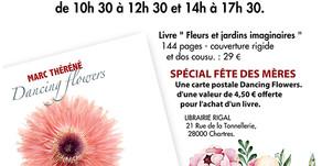 Dédicace Livre samedi 25 mai à Chartres