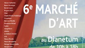 Marc Théréné participe au Marché d'Art d'Anet