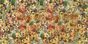 Le jardin des femmes 50 x 100 cm