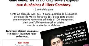 """18 MAI - DÉDICACE DU LIVRE """" FLEURS ET JARDINS IMAGINAIRES """" À ILLIERS-COMBRAY."""