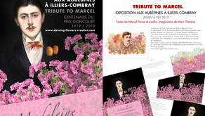 "EXPOSITION "" TRIBUTE TO MARCEL "" À ILLIERS-COMBRAY"