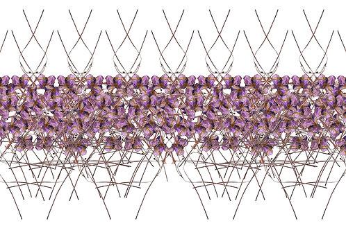Orchestre floral 100 x 50 cm