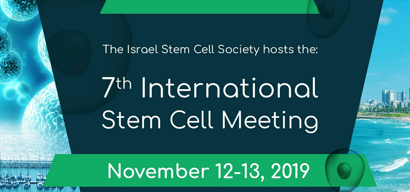 Kadimastem to Present at the 7th International Stem Cell Meeting, in Tel-Aviv