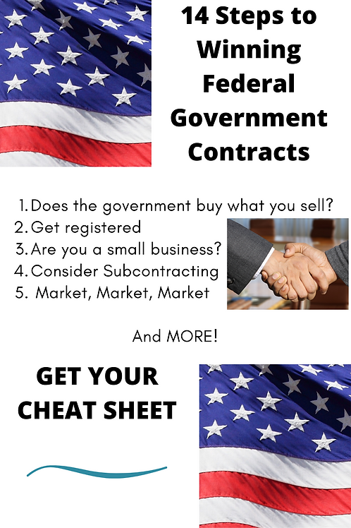 14 Steps to Winning Federal Government Contracts