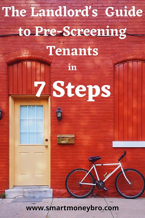 Landlord's Guide to Pre-Screening Tenants
