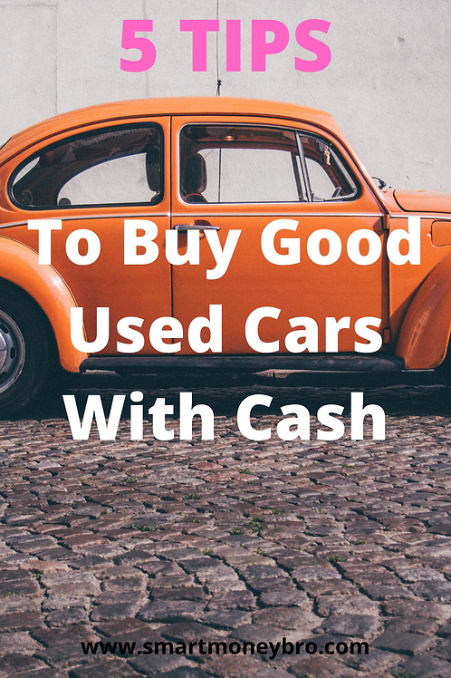 5 Tips to Buy Good Used Cars