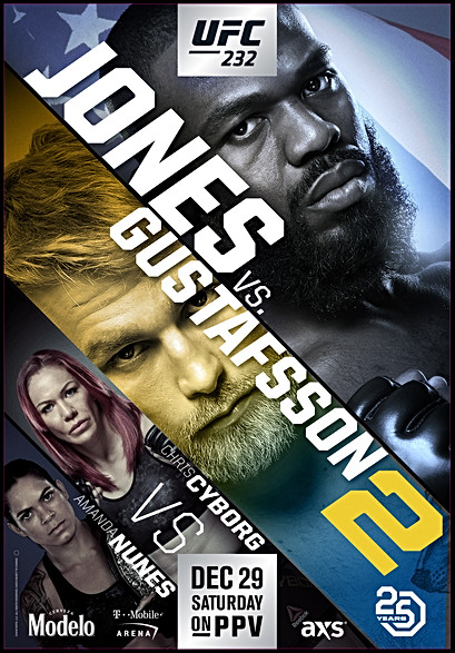 UFC fight poster