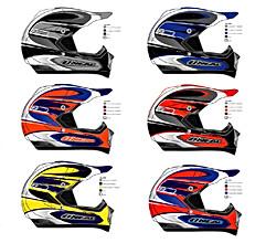 O'Neal 815 helmet color variations