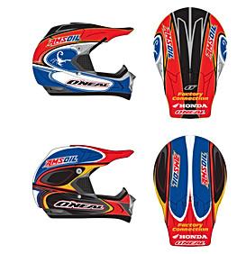 Factory Connection Honda team helmets