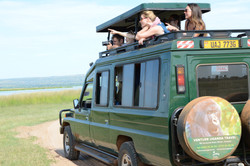 Venture Uganda Travel vehicle