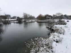 Fishing Lakes Winter