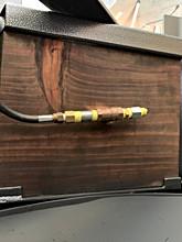 Inside propane key valve.