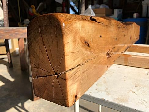 Bridal shelf wood