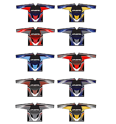 Prodigy color variations