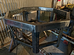 Initial frame of firepit.
