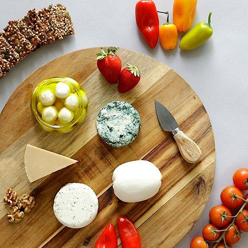 מארז 5 גבינות טבעוניות בהנחה
