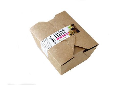 כדורי בצק עוגיות שקדים ושוקולד צ'יפס