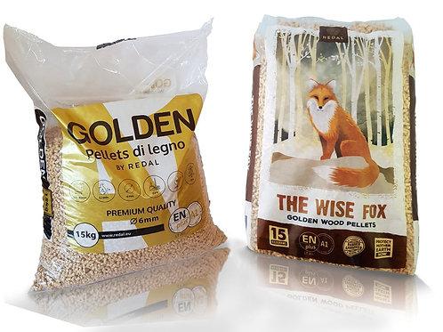 Golden Pellets / The Wise Fox