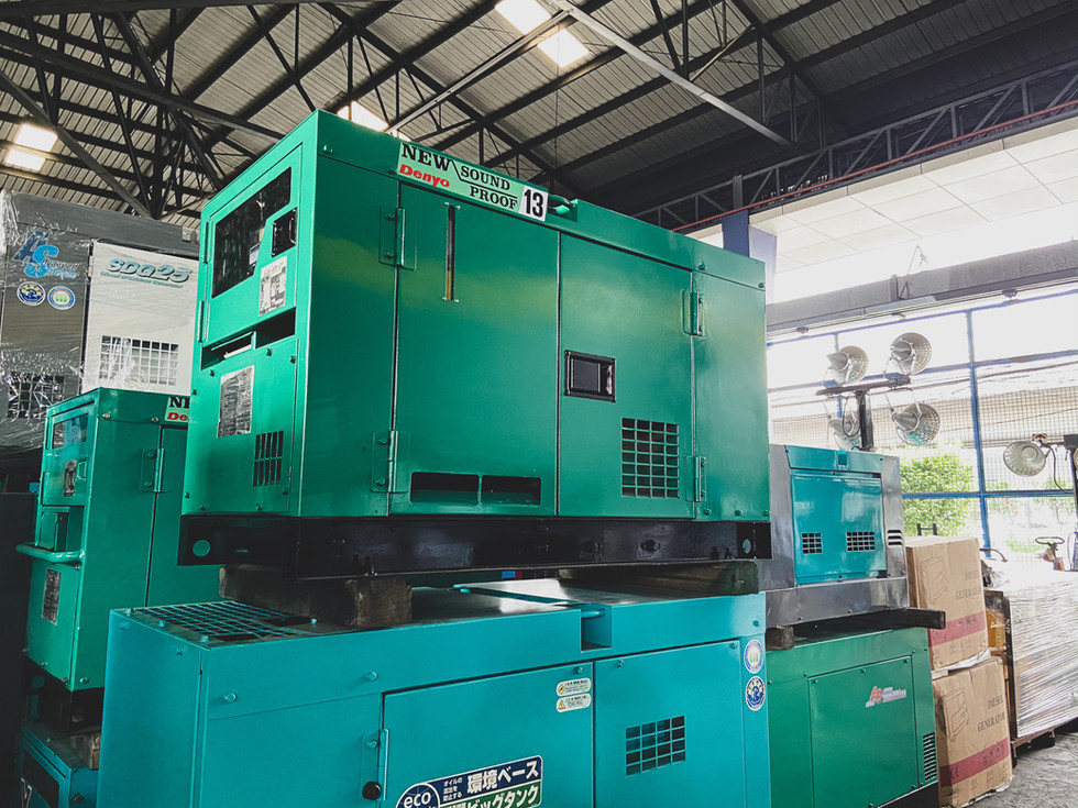 Denyo Generator DCA 13SPK (ESY)