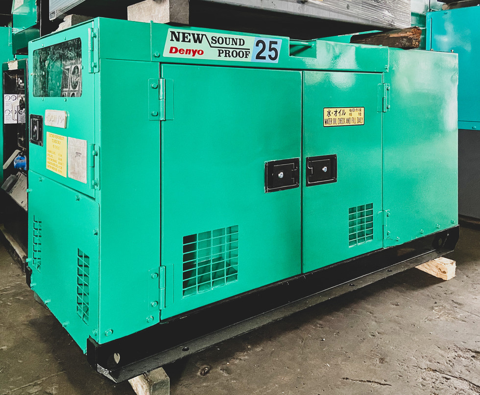 Denyo DCA 25SPK Generator