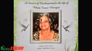 Funeral Service of the late Rhoda Terase Harrigan (September 20th 2020)