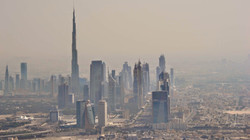 101 Fiona Tracey - Dubai from the sky
