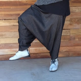 Funky trousers by Teresa Dair